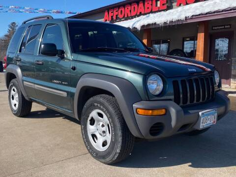 2002 Jeep Liberty for sale at Affordable Auto Sales in Cambridge MN