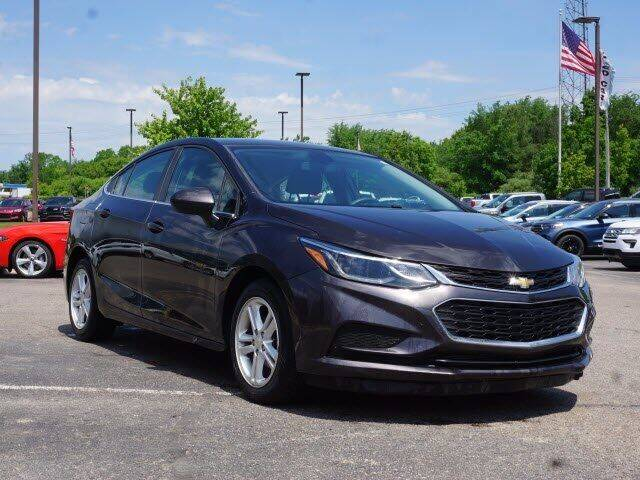 2017 Chevrolet Cruze for sale at Szott Ford in Holly MI