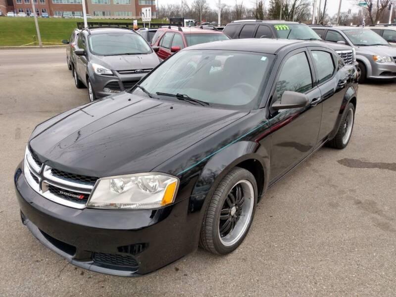 2012 Dodge Avenger for sale at AutoLink LLC in Dayton OH