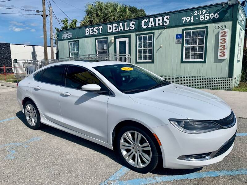 2015 Chrysler 200 for sale at Best Deals Cars Inc in Fort Myers FL
