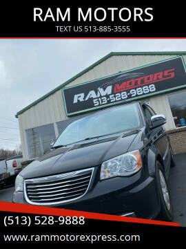 2012 Chrysler Town and Country for sale at RAM MOTORS in Cincinnati OH