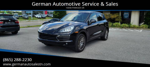 2011 Porsche Cayenne for sale at German Automotive Service & Sales in Knoxville TN