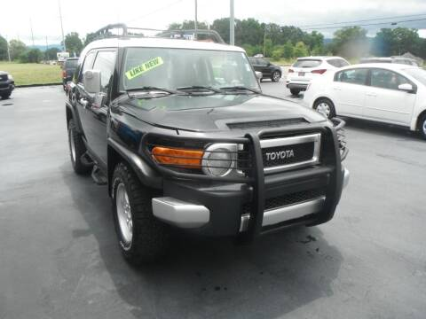 2007 Toyota FJ Cruiser for sale at Morelock Motors INC in Maryville TN