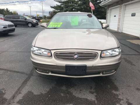 2002 Buick Regal for sale at Tonys Auto Sales Inc in Wheatfield IN