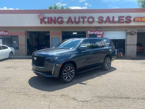2021 Cadillac Escalade for sale at KING AUTO SALES  II in Detroit MI