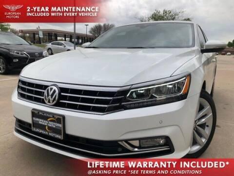 2017 Volkswagen Passat for sale at European Motors Inc in Plano TX