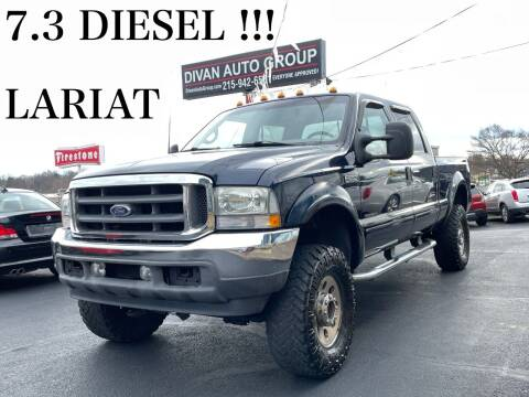 2002 Ford F-250 Super Duty for sale at Divan Auto Group in Feasterville PA