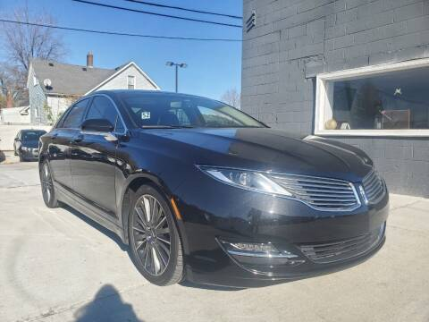 2015 Lincoln MKZ for sale at NUMBER 1 CAR COMPANY in Warren MI