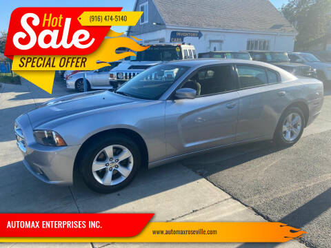 2014 Dodge Charger for sale at AUTOMAX ENTERPRISES INC. in Roseville CA