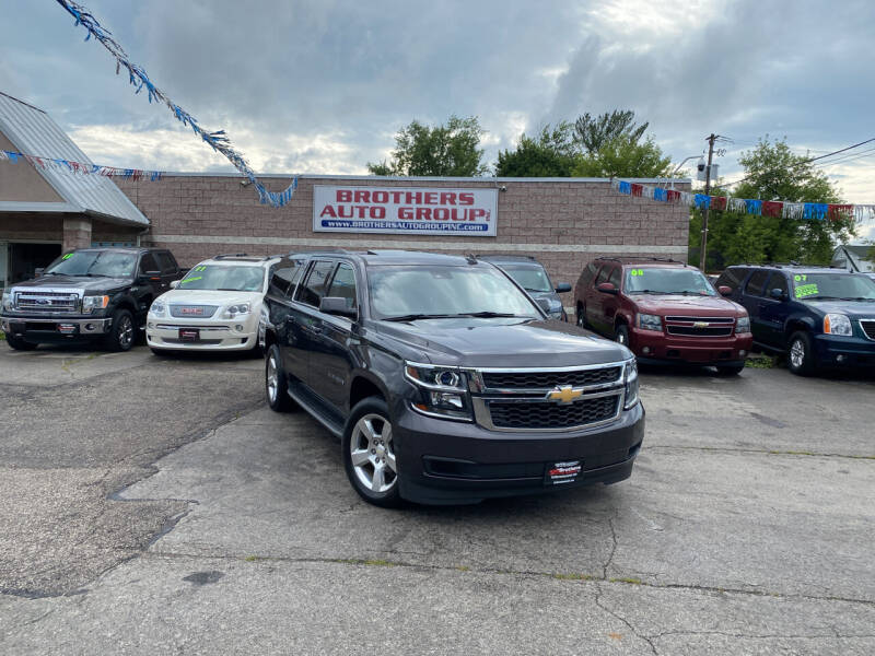 2015 Chevrolet Suburban for sale at Brothers Auto Group in Youngstown OH
