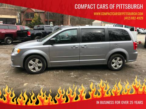 2013 Dodge Grand Caravan for sale at Compact Cars of Pittsburgh in Pittsburgh PA