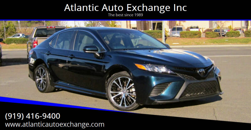 2018 Toyota Camry for sale at Atlantic Auto Exchange Inc in Durham NC