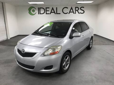2011 Toyota Yaris for sale at Ideal Cars in Mesa AZ