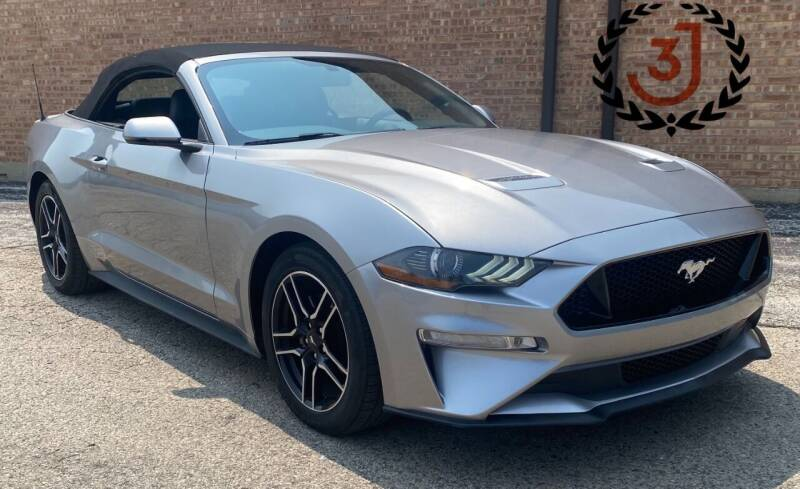 2020 Ford Mustang for sale at 3 J Auto Sales Inc in Arlington Heights IL