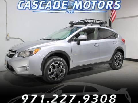 2013 Subaru XV Crosstrek for sale at Cascade Motors in Portland OR