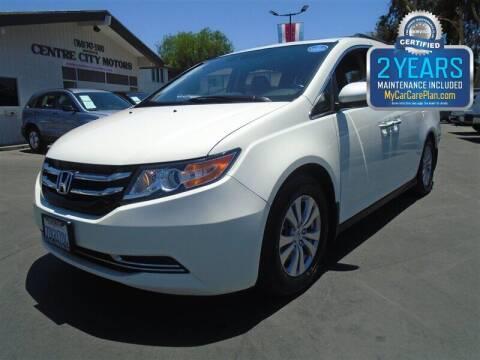 2014 Honda Odyssey for sale at Centre City Motors in Escondido CA