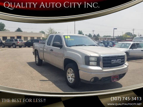 2008 GMC Sierra 1500 for sale at Quality Auto City Inc. in Laramie WY