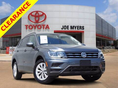 2020 Volkswagen Tiguan for sale at Joe Myers Toyota PreOwned in Houston TX