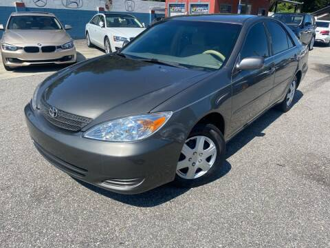 2003 Toyota Camry for sale at CHECK  AUTO INC. in Tampa FL