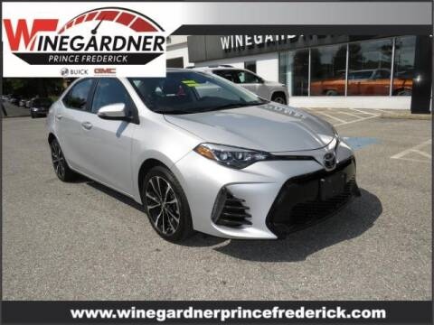 2019 Toyota Corolla for sale at Winegardner Auto Sales in Prince Frederick MD