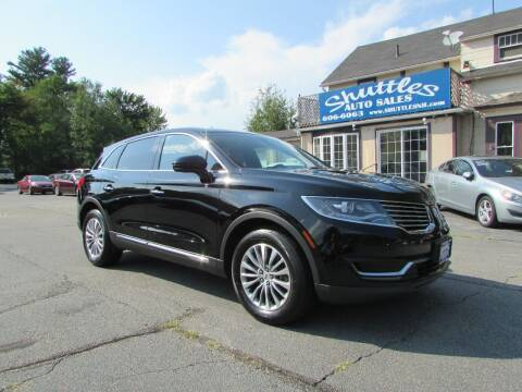 2016 Lincoln MKX for sale at Shuttles Auto Sales LLC in Hooksett NH