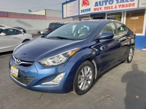 2015 Hyundai Elantra for sale at Lucky Auto Sale in Hayward CA