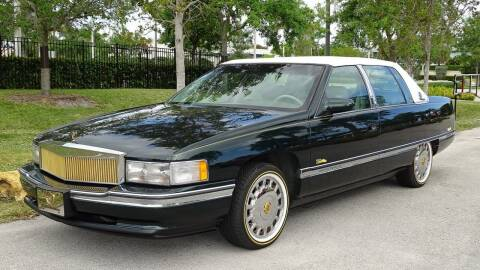 1995 Cadillac DeVille for sale at Premier Luxury Cars in Oakland Park FL