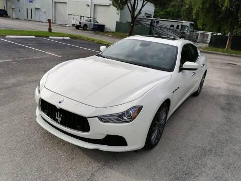 2017 Maserati Ghibli for sale at Best Price Car Dealer in Hallandale Beach FL