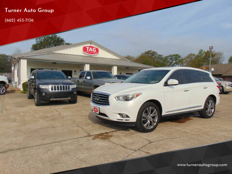 2013 Infiniti JX35 for sale at Turner Auto Group in Greenwood MS