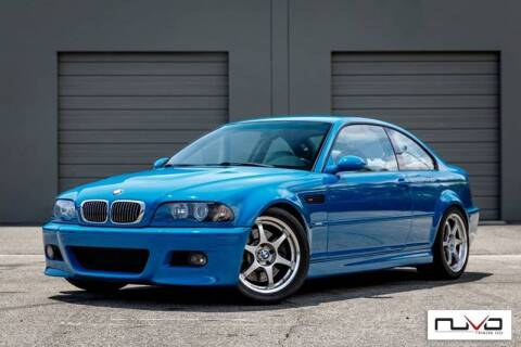 2002 BMW M3 for sale at Nuvo Trade in Newport Beach CA
