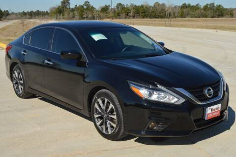 2017 Nissan Altima for sale at Fincher's Texas Best Auto & Truck Sales in Tomball TX