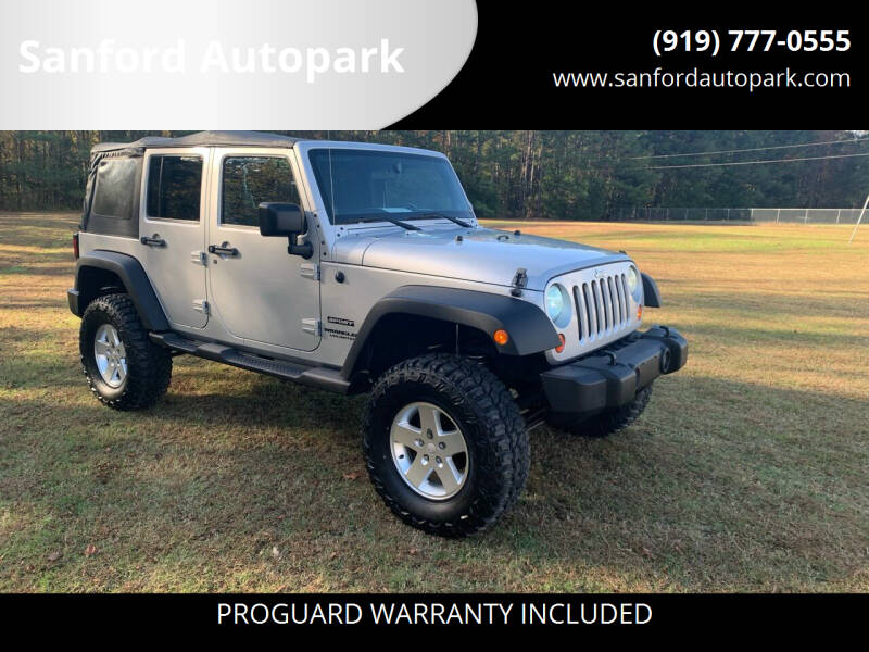 2011 Jeep Wrangler Unlimited for sale at Sanford Autopark in Sanford NC