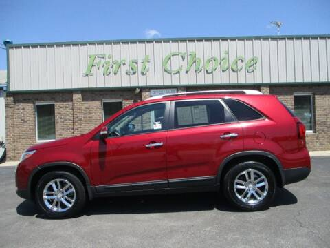 2015 Kia Sorento for sale at First Choice Auto in Greenville SC