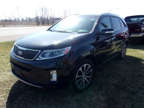 2014 Kia Sorento for sale at DAVE KNAPP USED CARS in Lapeer MI