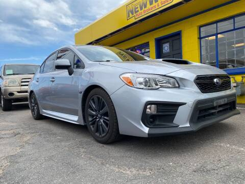 2018 Subaru WRX for sale at New Wave Auto Brokers & Sales in Denver CO