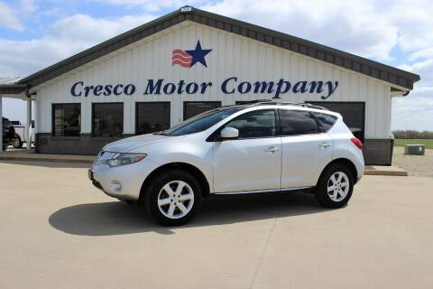 2010 Nissan Murano for sale at Cresco Motor Company in Cresco IA
