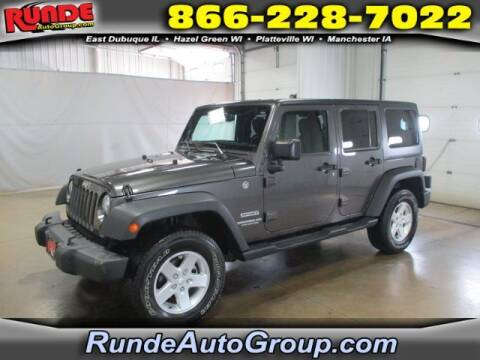 2017 Jeep Wrangler Unlimited for sale at Runde Chevrolet in East Dubuque IL