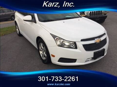 2012 Chevrolet Cruze for sale at Karz INC in Funkstown MD