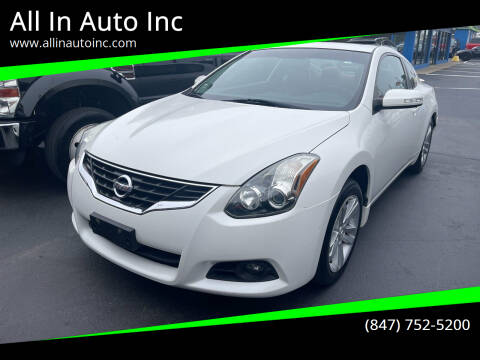 2012 Nissan Altima for sale at All In Auto Inc in Palatine IL