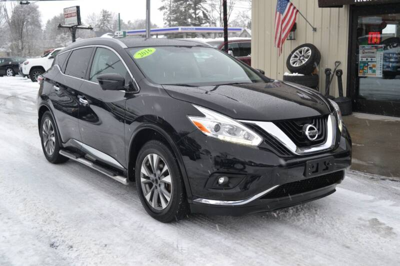 2016 Nissan Murano for sale at Nick's Motor Sales LLC in Kalkaska MI