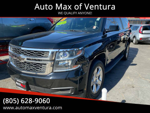 2015 Chevrolet Suburban for sale at Auto Max of Ventura in Ventura CA