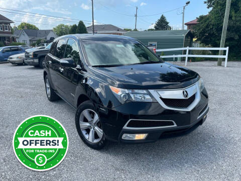 2013 Acura MDX for sale at Integrity Auto Sales in Brownsburg IN