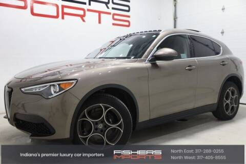 2019 Alfa Romeo Stelvio for sale at Fishers Imports in Fishers IN