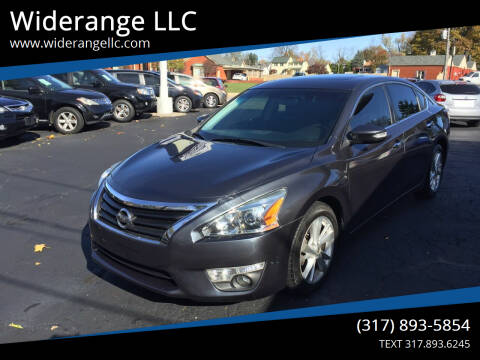 2013 Nissan Altima for sale at Widerange LLC in Greenwood IN