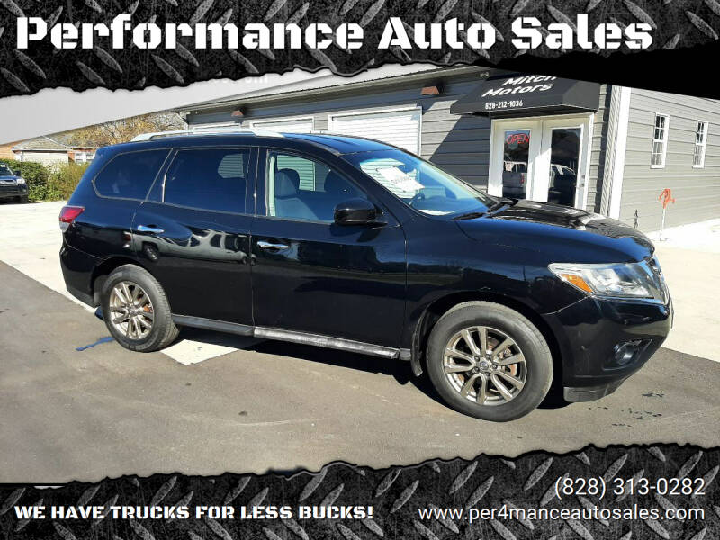 2013 Nissan Pathfinder for sale at Performance Auto Sales in Hickory NC