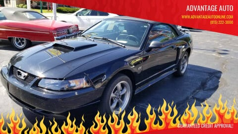 2003 Ford Mustang for sale at Advantage Auto Sales & Imports Inc in Loves Park IL