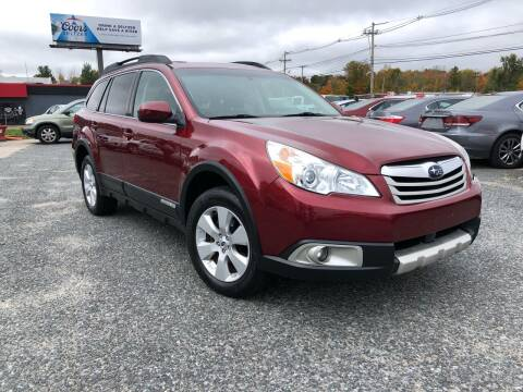 2012 Subaru Outback for sale at Mass Motors LLC in Worcester MA