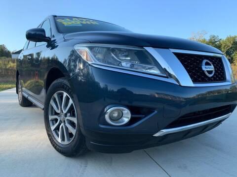 2013 Nissan Pathfinder for sale at El Camino Auto Sales in Sugar Hill GA