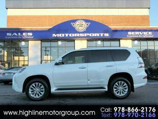 2017 Lexus GX 460 for sale at Highline Group Motorsports in Lowell MA
