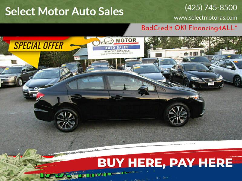 2014 Honda Civic for sale at Select Motor Auto Sales in Lynnwood WA